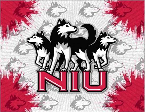 Northern Illinois Huskies Logo Canvas Print