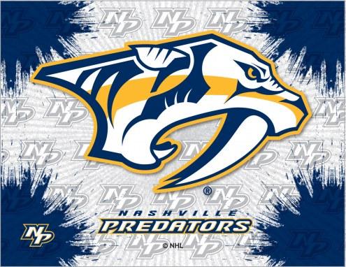 Nashville Predators Logo Canvas Print
