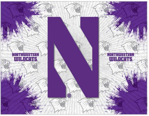 Northwestern Wildcats Logo Canvas Print
