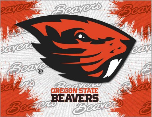 Oregon State Beavers Logo Canvas Print