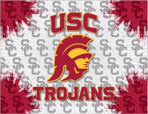 USC Trojans Logo Canvas Print