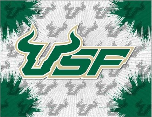 South Florida Bulls Logo Canvas Print