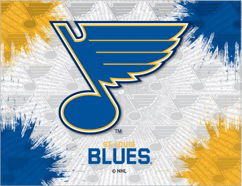 St. Louis Blues Logo Canvas Print