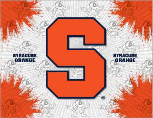 Syracuse Orange Logo Canvas Print