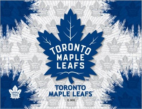 Toronto Maple Leafs Logo Canvas Print