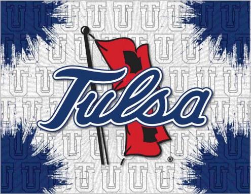 Tulsa Golden Hurricane Logo Canvas Print