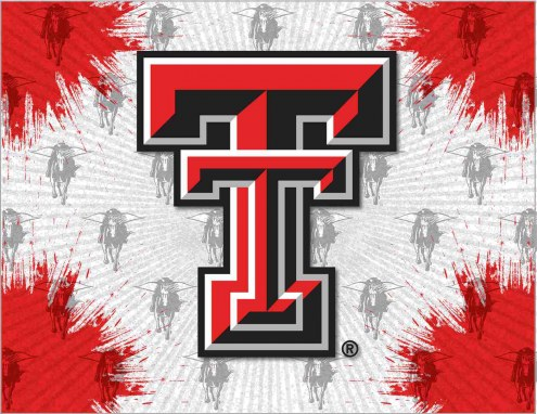 Texas Tech Red Raiders Logo Canvas Print