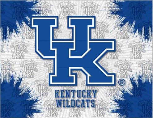 Kentucky Wildcats Logo Canvas Print