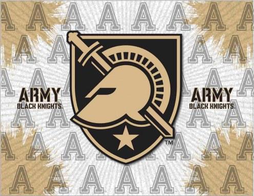 Army Black Knights Logo Canvas Print