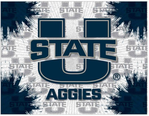 Utah State Aggies Logo Canvas Print