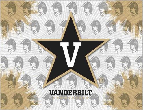 Vanderbilt Commodores Logo Canvas Print