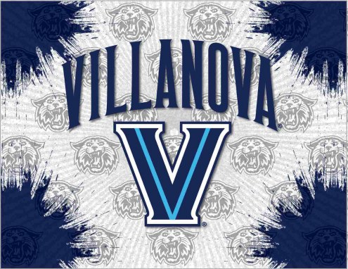 Villanova Wildcats Logo Canvas Print