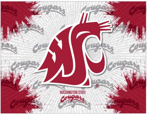Washington State Cougars Logo Canvas Print