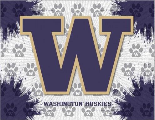 Washington Huskies Logo Canvas Print