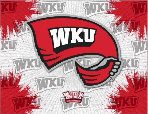 Western Kentucky Hilltoppers Logo Canvas Print