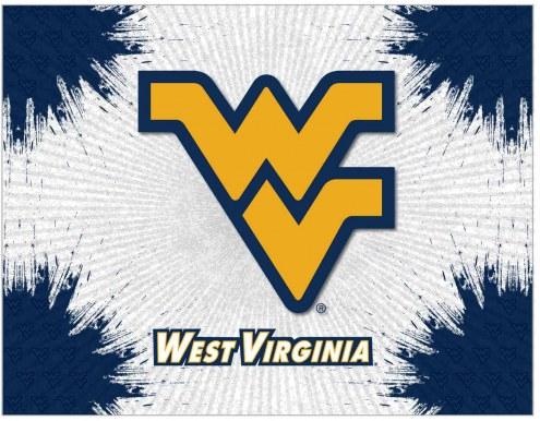 West Virginia Mountaineers Logo Canvas Print