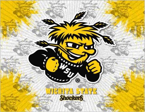 Wichita State Shockers Logo Canvas Print