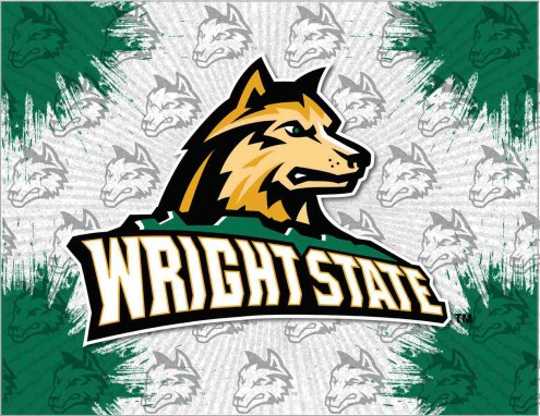 Wright State Raiders Logo Canvas Print