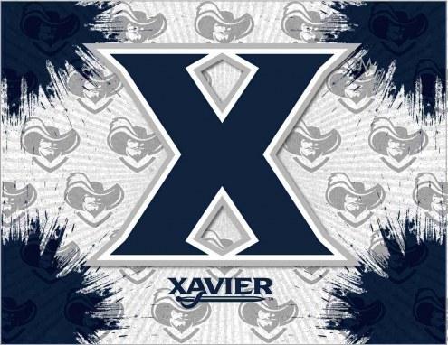 Xavier Musketeers Logo Canvas Print