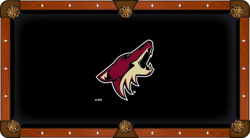 Arizona Coyotes Pool Table Cloth