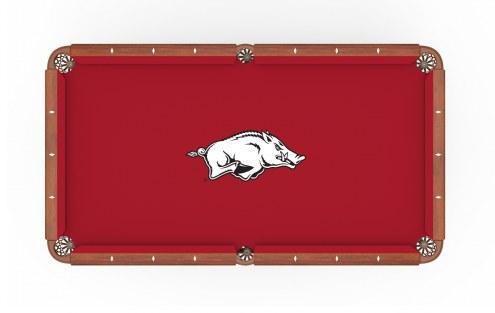 Arkansas Razorbacks Pool Table Cloth
