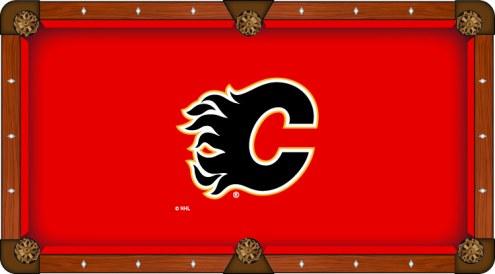 Calgary Flames Pool Table Cloth