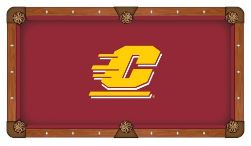 Central Michigan Chippewas Pool Table Cloth