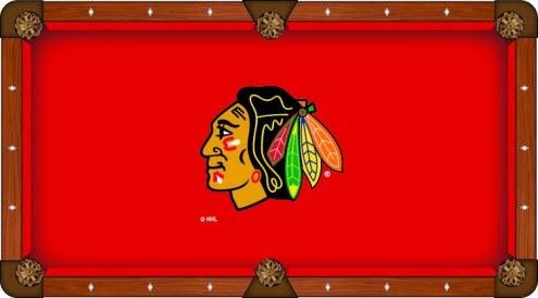 Chicago Blackhawks Pool Table Cloth