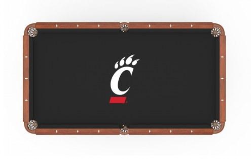 Cincinnati Bearcats Pool Table Cloth