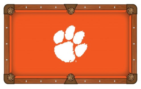 Clemson Tigers Pool Table Cloth