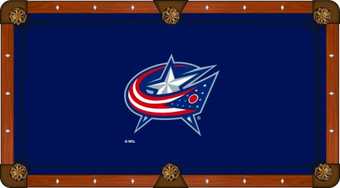 Columbus Blue Jackets Pool Table Cloth