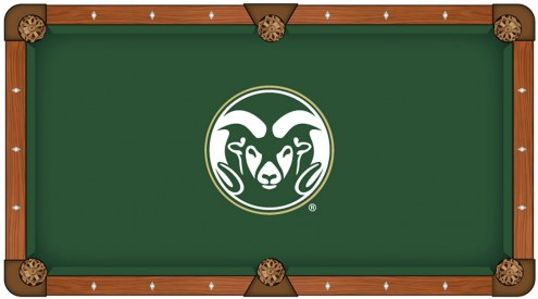 Colorado State Rams Pool Table Cloth