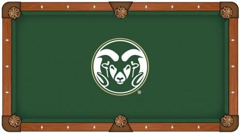 Colorado State Rams Pool Table Cloth