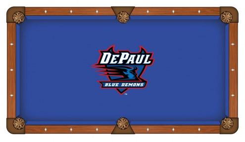 DePaul Blue Demons Pool Table Cloth