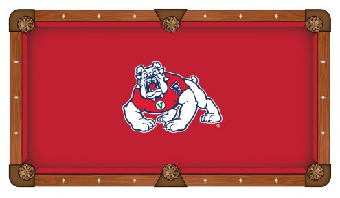 Fresno State Bulldogs Pool Table Cloth