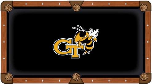 Georgia Tech Yellow Jackets Pool Table Cloth