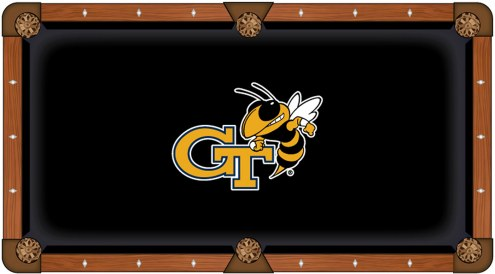 Georgia Tech Yellow Jackets Pool Table Cloth