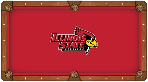 Illinois State Redbirds Pool Table Cloth
