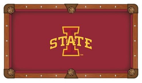 Iowa State Cyclones Pool Table Cloth