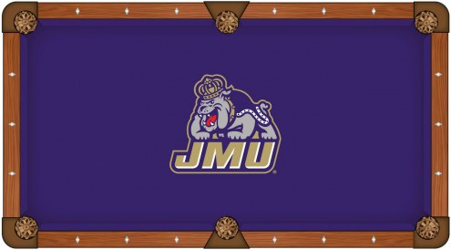 James Madison Dukes Pool Table Cloth