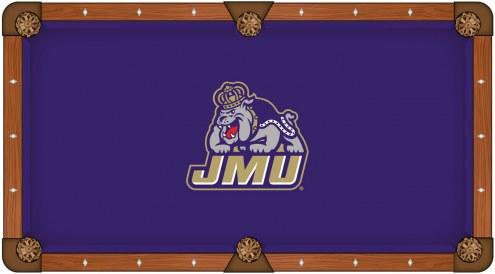 James Madison Dukes Pool Table Cloth