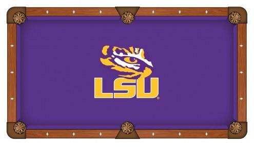 LSU Tigers Pool Table Cloth