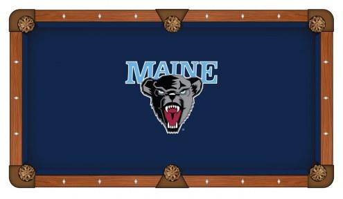 Maine Black Bears Pool Table Cloth