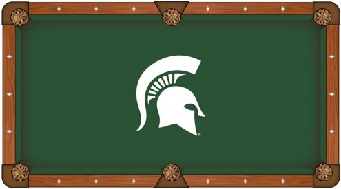 Michigan State Spartans Pool Table Cloth