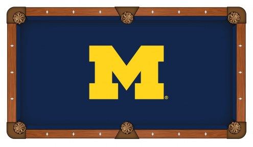 Michigan Wolverines Pool Table Cloth