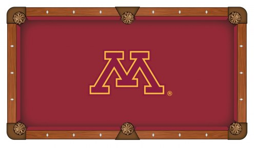 Minnesota Golden Gophers Pool Table Cloth
