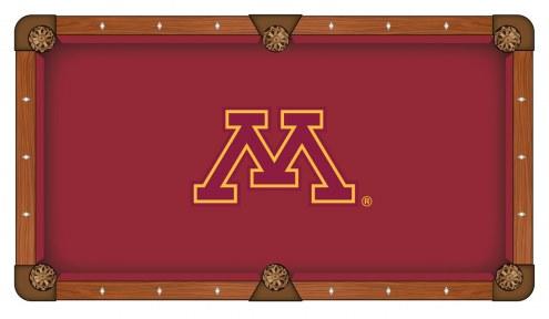 Minnesota Golden Gophers Pool Table Cloth