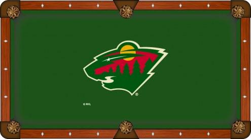 Minnesota Wild Pool Table Cloth