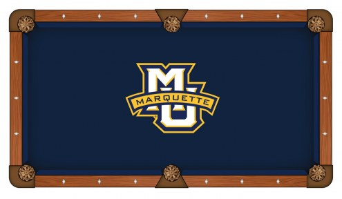 Marquette Golden Eagles Pool Table Cloth