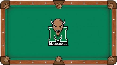 Marshall Thundering Herd Pool Table Cloth